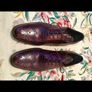Dolce&Gabbana handmade Wingtip Oxford burgundy new